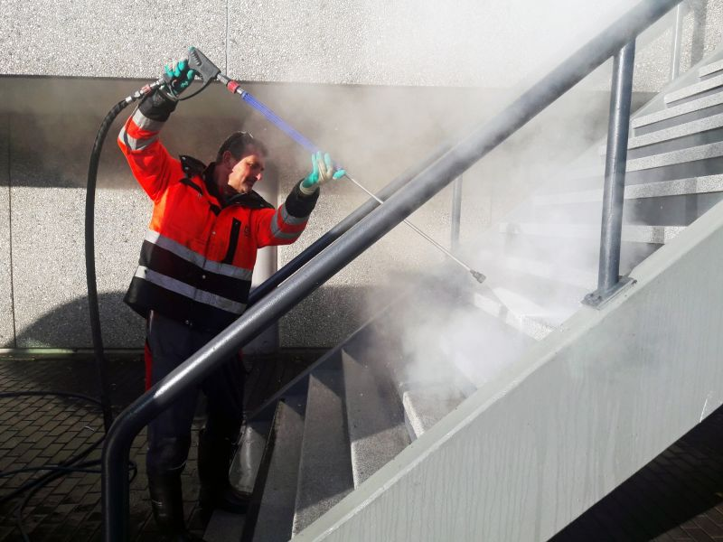 Commercial Pressure Washing by South Bay Cleaning Services LLC